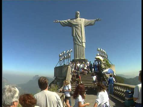 Estatua De Cristo  Corcovado  Rio De Janeiro Brasil