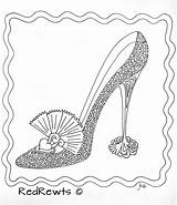 Coloring Pages Heel Shoe Adult Shoes Colouring Printable Adults Books Clothing Heels Sheets Zentangle Fancy Getcolorings Boots Drawing Jordan Doddle sketch template