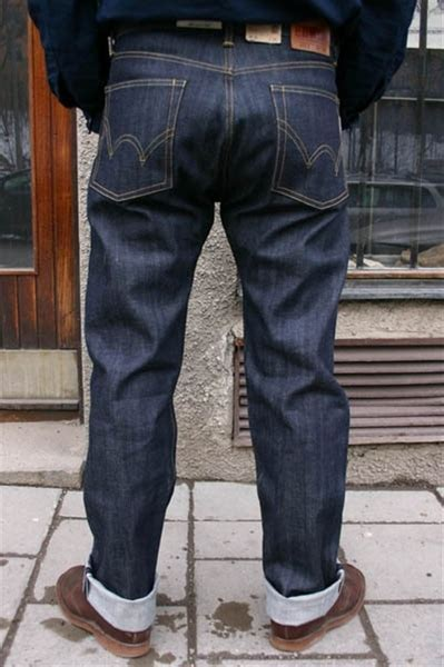 Edwin Nashville Red selvage jeans   Sivletto
