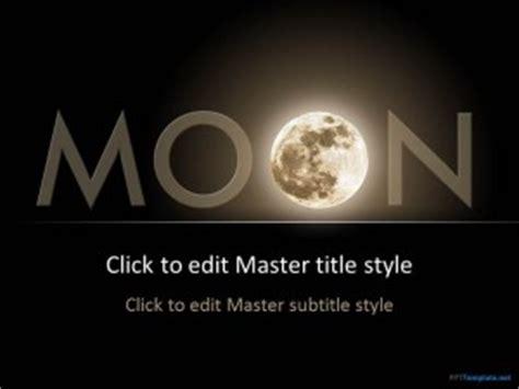 moon  template