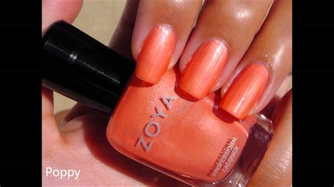 zoya nail polish collection swatches updated youtube