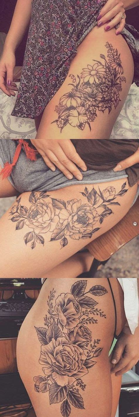 delicate flower tattoo ideas  pinterest
