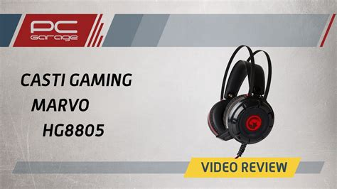 Pc Garage  Video Review Casti Gaming Marvo Hg8805 Youtube