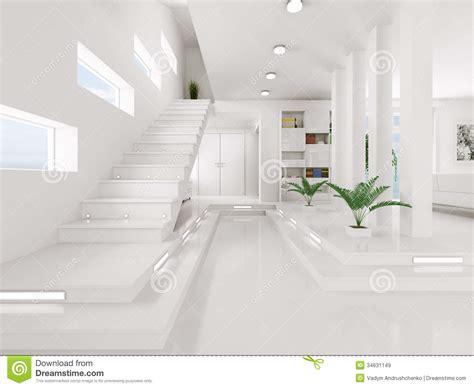 le d entr 233 e blanc 3d int 233 rieur rendent images libres de droits image 34631149