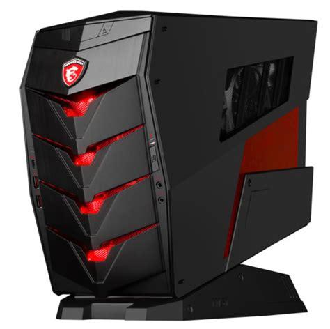 MSI Announces the Aegis Gaming Desktop | TechPowerUp