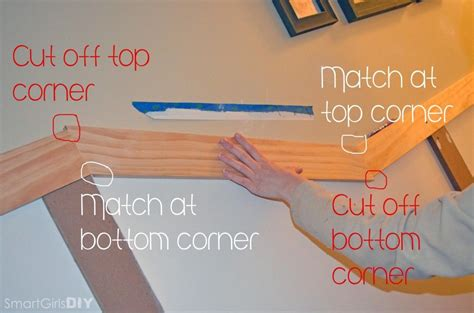 How To Cut Wainscoting by How To Cut Angles For Board And Batten On Stairs How To