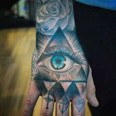 hand tattoos  men cool ideas designs