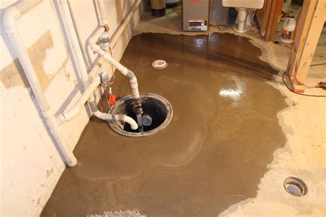 Basement Sump Pump Location, Pump For Toilet In Basement