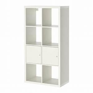 Ikea Regalsystem Kallax : kallax open kast met deuren wit ikea ~ Orissabook.com Haus und Dekorationen