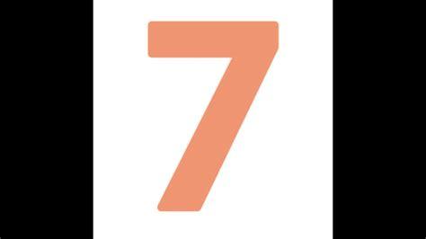 Numeroloski Broj Sedam - YouTube