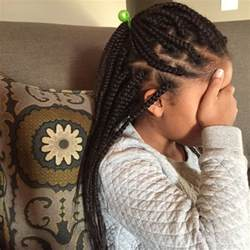 Little Girls Box Braids Hairstyles