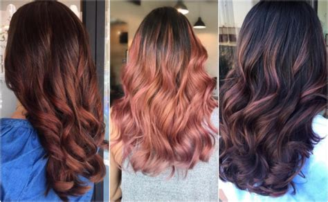 How To Get Brunette Rose Gold Hair