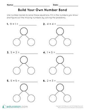 number jumble worksheet education