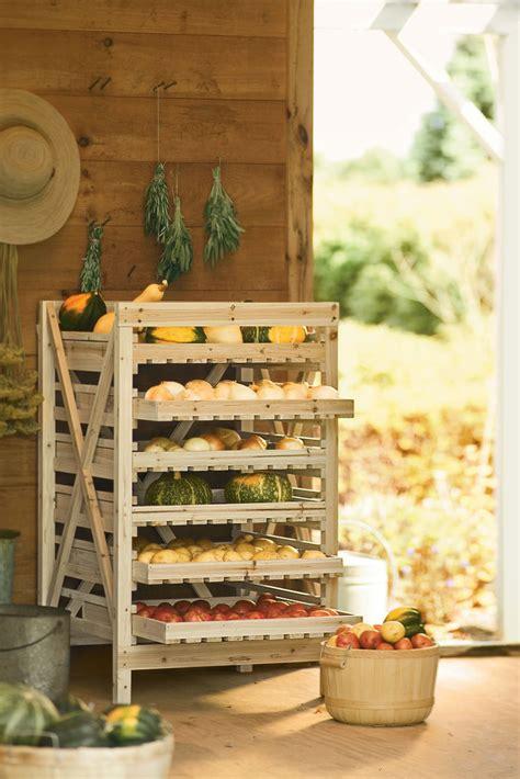 rangement pomme de terre cuisine orchard rack vegetable storage wood storage rack