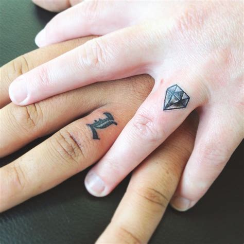 55 wedding ring tattoo designs meanings true commitment 2019