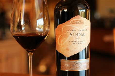 On the walkway to their tuscan villa, a flagstone path leads off into a. Ferrari-Carano Siena Red Blend Turns 25 with Special Anniversary Release - Wine Industry Advisor ...