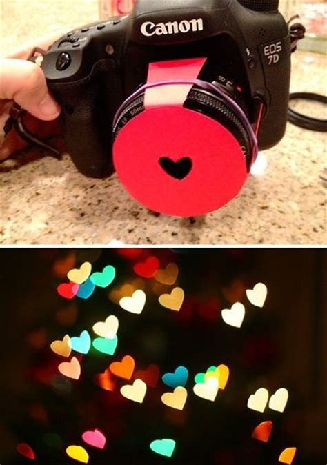 photography diy hearts bokeh lens hood tutorial here http great photos juxtapost