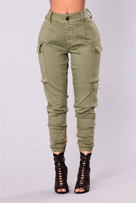 womens cargo kalley cargo olive