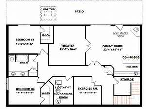 Bungalow With Walkout Basement Plan 2011545