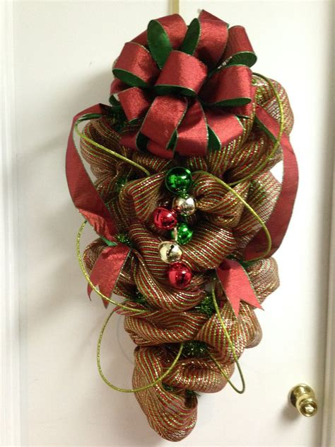14 best deco mesh christmas decorations images on