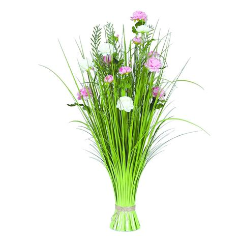 Grass Floral Bundle Peony 70cm - Accessories from Breeze Furniture UK