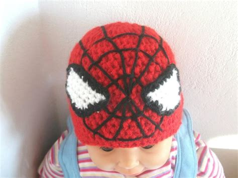 Spider-man Crochet Hat Pattern ()