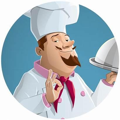 Behance Chef Illustration Vector