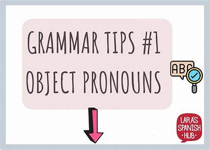 Pronouns Object Spanish Indirect Direct Introduction