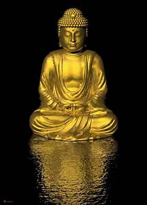 Buddha Bilder Gemalt : poster goldener buddha in din a1 gr e laminierte qualit ~ Markanthonyermac.com Haus und Dekorationen