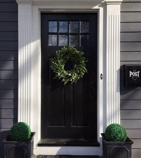 colonial front door ideas  pinterest white