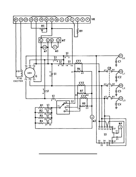 ac electrical wiring diagrams generator fuse box