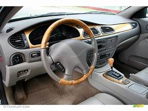 Almond Interior 2000 Jaguar S