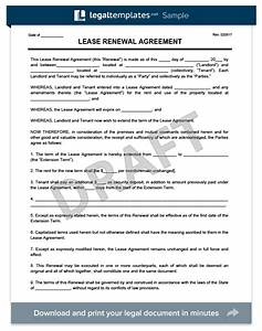 19 awesome lease agreement extension letter sample pics With tenancy agreement renewal template