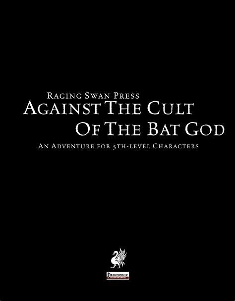 paizo against the cult of the bat god pfrpg