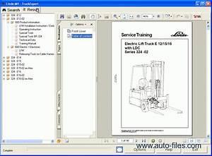 Linde Truck Expert  Repair Manuals Download  Wiring