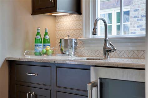 Undermount Kitchen Sink With Herringbone Backsplash  Hgtv