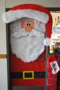 diy santa claus classroom door door decorating contest ideas photos
