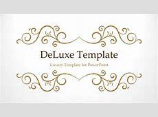 DeLuxe Luxury PowerPoint Template