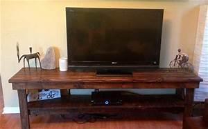 Table Tv But : diy reclaimed pallet tv stand media console pallet furniture diy ~ Teatrodelosmanantiales.com Idées de Décoration