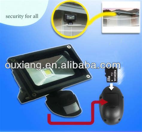 motion flood light with camera motion activated security light camera in led floodlight