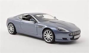 Aston Martin Miniature : aston martin db9 miniature grise bleu 2006 motormax 1 18 voiture ~ Melissatoandfro.com Idées de Décoration