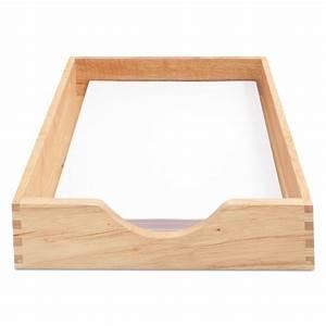 carver cvr07211 hardwood letter stackable desk tray oak With oak letter tray