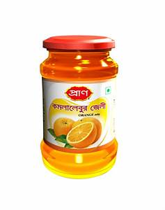 Pran Orange Jelly jar- 500 gm - parmeeda.com organic ...
