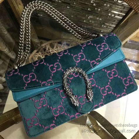 gucci dionysus gg blue velvet small shoulder bag