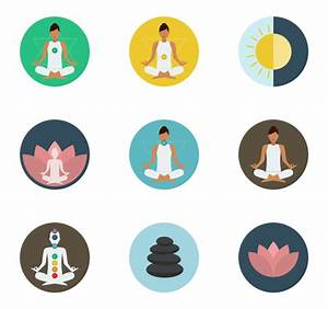 Yoga Icons - 1,083 free vector icons