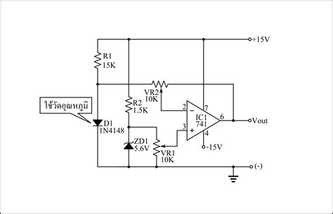 Simple Temperature Sensor Circuit Using Diode