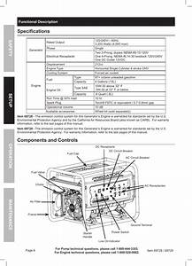 Complex Predator 4000 Generator Wiring Diagram Specifications  Components And Controls
