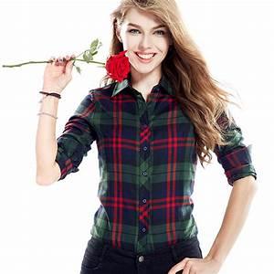 Aliexpress.com : Buy 2016 New Fashion Plaid Shirts Female ...