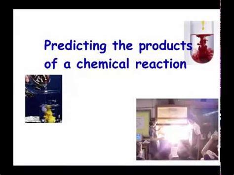 Predicting Products Synthesis, Decomposition And