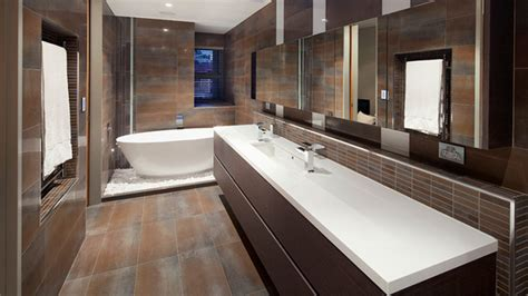 stunning contemporary dark wood bathroom vanity home